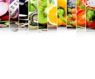 Rainbow Fitness Mix Stock Photography