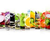 Rainbow Fitness Mix Stock Images