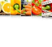 Rainbow Fitness Mix Royalty Free Stock Photo