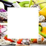 Rainbow Fitness Mix Royalty Free Stock Photography