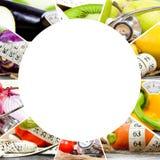 Rainbow Fitness Mix Stock Image