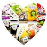Rainbow Fitness Mix Royalty Free Stock Image