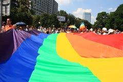 Rainbow flag Stock Image