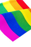 Rainbow flag Royalty Free Stock Photography