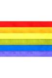 Rainbow flag Royalty Free Stock Photos
