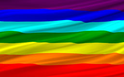 Rainbow flag Stock Photos
