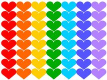 Rainbow flag Royalty Free Stock Images