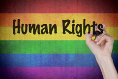 Rainbow Flag Concept Royalty Free Stock Photo