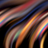 Rainbow flames Royalty Free Stock Photography