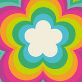Rainbow Flower Power Stock Photos