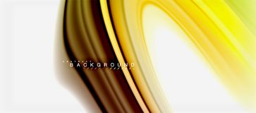 Rainbow fluid colors abstract background twisted liquid design, colorful marble or plastic wavy texture backdrop. Multicolored template for business or royalty free illustration
