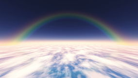 Rainbow stock footage