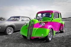 Rainbow ford pop car Stock Photography