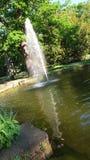 rainbow fountain Stock Image