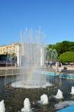 Rainbow in the fountain - Kharkiv Ukraine. Rainbow in the fountain - Kharkiv Stock Photos