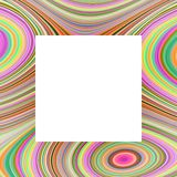 Rainbow Frame Royalty Free Stock Photography