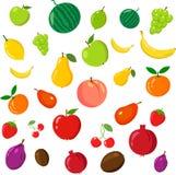 Rainbow of fruits Stock Photography