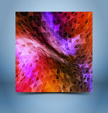 Rainbow geometric abstract background Royalty Free Stock Photo