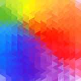 Rainbow geometry background Royalty Free Stock Photos