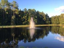 Rainbow of geyser Royalty Free Stock Photo