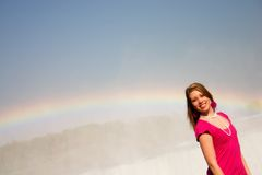 Rainbow Girl Royalty Free Stock Photography