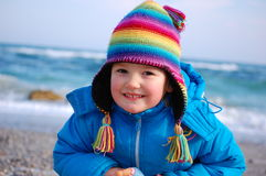 Rainbow girl Royalty Free Stock Photos