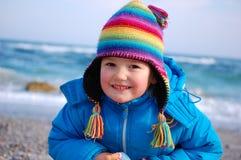 Rainbow girl Royalty Free Stock Photos