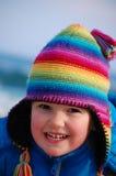 Rainbow girl Stock Images