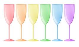 Rainbow glasses Stock Photography