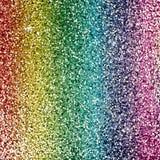 Rainbow glitter background Stock Image