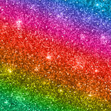 Rainbow glitter background. Vector