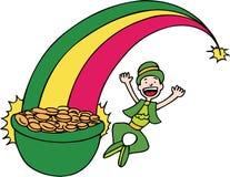 Rainbow Gold Stock Photography