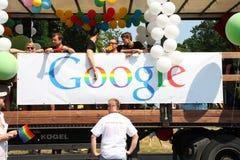 Rainbow Google fotografie stock libere da diritti