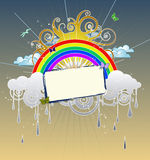 Rainbow Graphic Royalty Free Stock Images