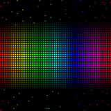 Rainbow grid Stock Images