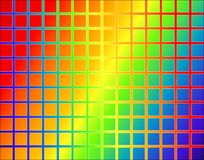 Rainbow grid Stock Photos