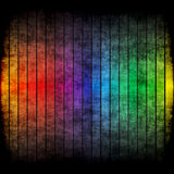 Rainbow Grunge Layout Royalty Free Stock Photo