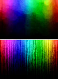 Rainbow grunge layout Royalty Free Stock Image
