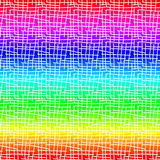 Rainbow Grunge Lines Seamless Background Stock Photos
