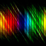 Rainbow Grungy Layout Royalty Free Stock Photos