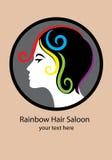 Rainbow Hair Saloon Stock Image