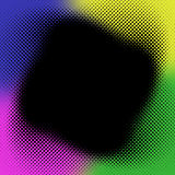 Rainbow Halftone Background Royalty Free Stock Photo