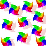 Rainbow Hankies Stock Photography