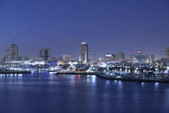 Rainbow Harbor Long Beach CA Royalty Free Stock Image