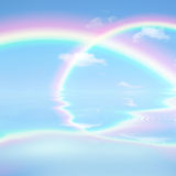 Rainbow Heaven Stock Photo