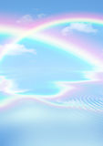 Rainbow Heaven Stock Photography