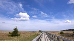 Rainbow Heaven Beach. In Halifax royalty free stock photo