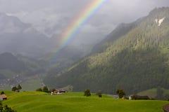 Rainbow hills Royalty Free Stock Photo