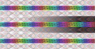 Rainbow Hologram Royalty Free Stock Images