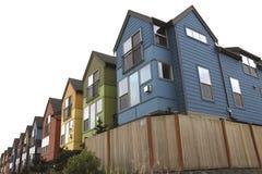 Rainbow houses Royalty Free Stock Photo